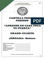 Cartilla Para 4º 1P 2021 JM