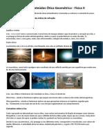 Resumo Ótica Geométrica_Física II