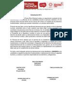 Pacto Ético Electoral rechazó declaraciones de Rafael López Aliaga