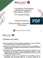 Psicoterapias 634 Keegan- Primera Clase