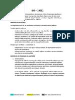 Resumen NTC-ISO 19011, NTC 265 y capítulos del libro.