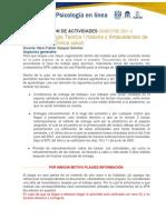 Programación de actividades 516 2021-2