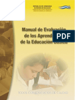 Manual de evaluación de aprendizajes