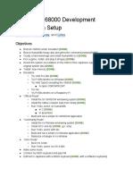 Emulated X68000 Development Workstation Setup