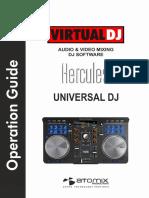 Hercules Universal DJ - VirtualDJ 8 Operation Guide
