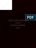 (1907) Dress Regulations for the Officers of the Canadian Militia