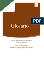Glosario Romano 2
