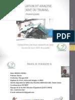 INVESTIGATION ET ANALYSE D'ACCIDENT DU TRAVAIL PARTIE 1