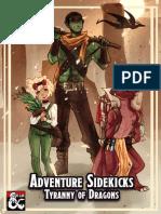 Adventure Sidekicks - Tyranny of Dragons