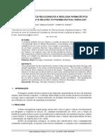 aspectos relacionados a reologia farmacêutica