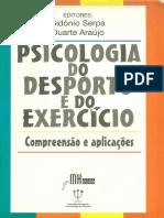 PSICOLOGIA DESPORTO EXERCÍCIO