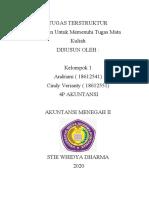 4P- Tugas Terstruktur AKM2- Kelompok 1