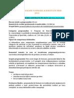 OFERTA PROGRAME FORMARE ACREDITATE   MEN 2021 PROFEDU