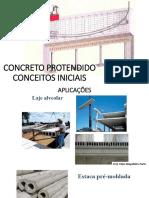 1 - Concreto Protendido - Conceitos Iniciais