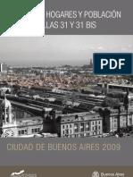Censo 2009 Villa 31 y Villa 31 bis