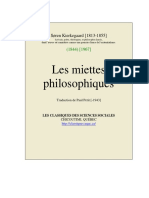 KIERKEGAARD Miettes_philosophiques