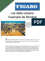 Les défis urbains_ l'exemple de Mumbai