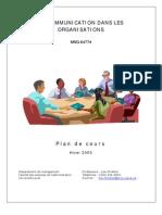 communication organisationnelle 1
