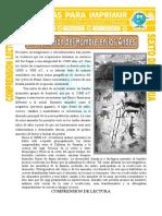 La Aparición Del Hombre en Los Andes Para Sexto de Primaria
