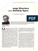 Markus_Language structures and building types
