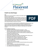 Flexirest Health Care Bed Catalogue 2011
