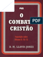 O Combate Cristão - Martyn L. Jones