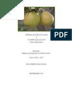 Sistema de Producción y Comercialización del Manzano.