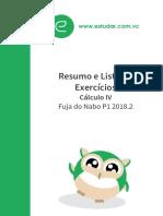 10182-Cálculo_IV_Resumo_e_Exercícios_Fuja_do_Nabo_P1_2018.1.original