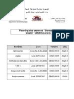 Planning Examens M1+M2 S1 Maths (2)