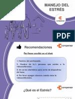 Diapositivas Taller Manejo Del Estrés.