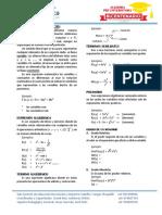 Práctica 3.Expresiones Álgebraicas