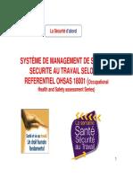 Exigences de La Norme OHSAS 18001
