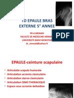 01- Epaule Bras