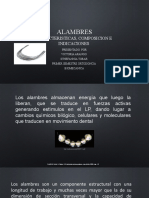 TIPOS DE ALAMBRE