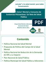 POLITICAS de Salud Mental