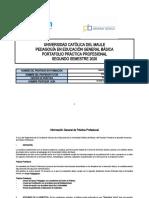 Portafolio Práctica Profesional Lista