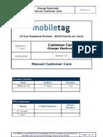 Orange flashcode - Customer Care Manual - v1.0