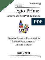 PROJETO POLÍTICO PEDAGÓGICO 2018-2021 EF EM