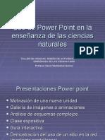 Uso de Power Point en la enseñanza de las CCNN