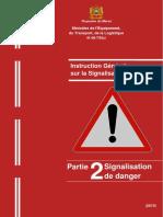 Partie 2-Signalisation de danger