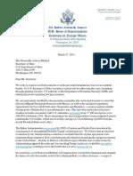GOP Letter to Blinken Re US-Mexico Border