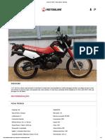Honda XLX 350 R - Guia de Motos - Motonline