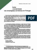 ALGUNS CONTRIBUTOS PARA O ESTUDO DA IDENTIDADE DAS EMPREGADAS DOMÉSTICAS EM PORTUGAL_1986