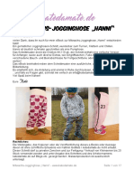 Hanni Jogginghose SM + eBook