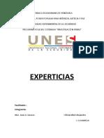EXPERTICIAS