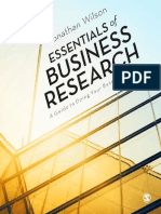 Essentials of Business Research a Guide