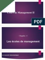 3-Management II Séance Du 21 Avril 2020
