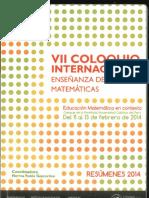 VII Coloquio de Enseñanza de La Matematica Ccesa007