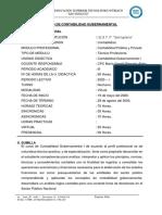 SYLABO CONT.  GUBERNAMENTAL I - 2020 I.