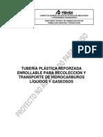 PEMEX TUBERIA PLASTICA REFORZADA